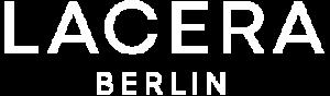 Lacera Logo klein weiss