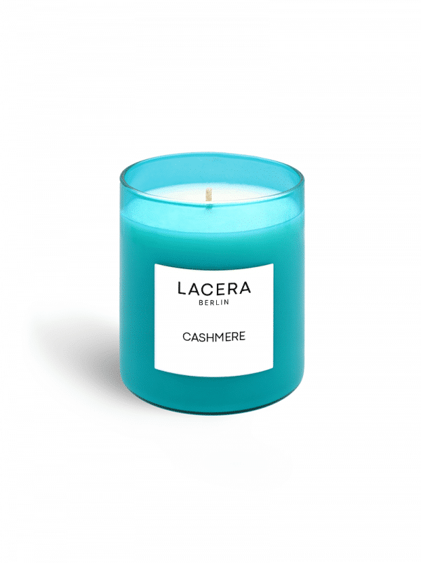 Lacera Scented Candle Cashmere without lid